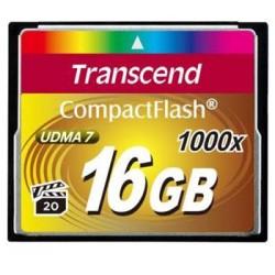 Transcend 16GB CF (1000X) paměťová karta TS16GCF1000