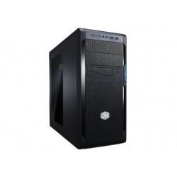CoolerMaster case miditower N300, ATX, USB3.0, bez zdroja, priehľ. bočnica, čierna NSE-300-KWN1