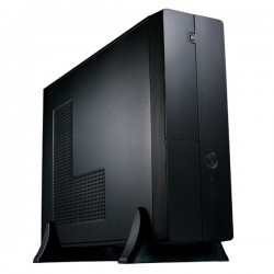Eurocase MC 8107, mATX, desktop/tower, bez zdroja, čierna MC8107BLACK