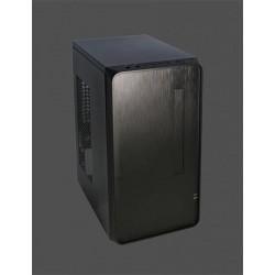 PC skrinka Eurocase Mini ITX X102, 2xUSB 3.0, audio, bez zdroja, čierna ITXX102