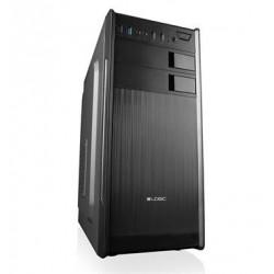 Modecom PC skříň LOGIC K2 MIDI, 1x USB 3.0, 2x USB 2.0 + audio HD, černá, bez zdroje AT-K002-10-0000000-0002