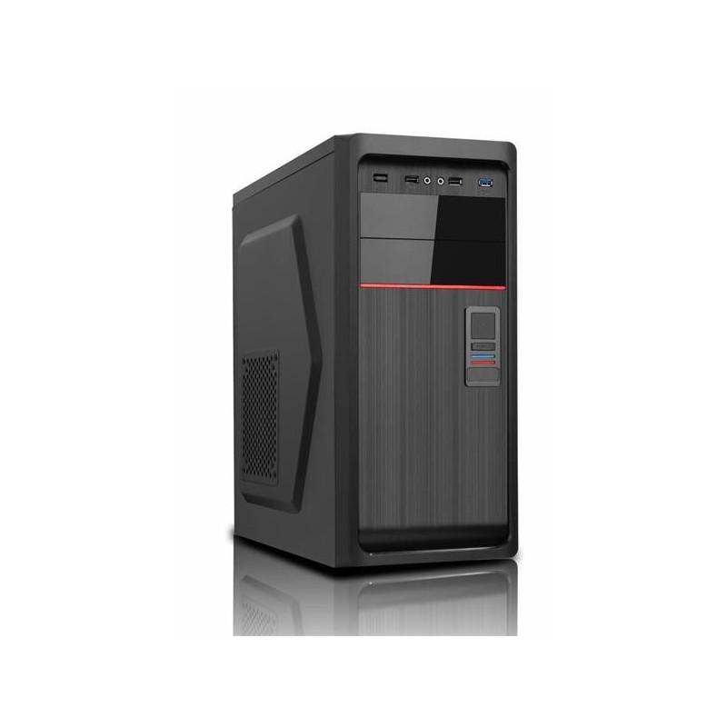 PC skrinka Eurocase ML X611, ATX, 1x USB 3.0, 2x USB 2.0, čierna, bez zdroja