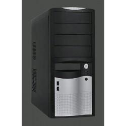 Eurocase ML-5410 ATX, USB3.0, čierna&strieb.,clip,bez zdroja ML-5410CAROHO