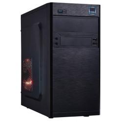 PC skrinka Eurocase MC X202, mATX, bez zdroja, 2xUSB2.0, 1xUSB3.0, čierna MCX202
