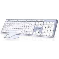 CONNECT IT Combo bezdrátová klávesnice + myš, 2,4GHz, USB, CZ + SK...
