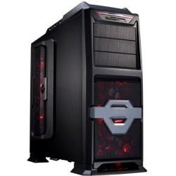 Eurocase ML 9801 X-Cooling ATX, USB, card reader, čierna, bez zdroja