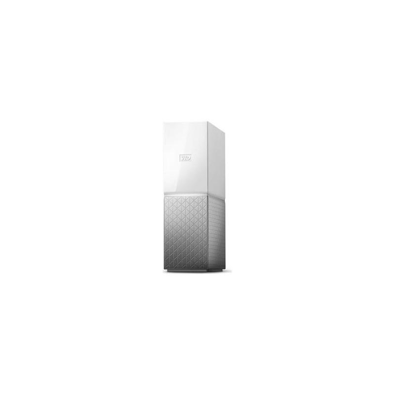 "WD My Cloud HOME 6TB Ext. 3.5"" RJ45 (GLAN), USB 3.0,NAS WDBVXC0060HWT-EESN"