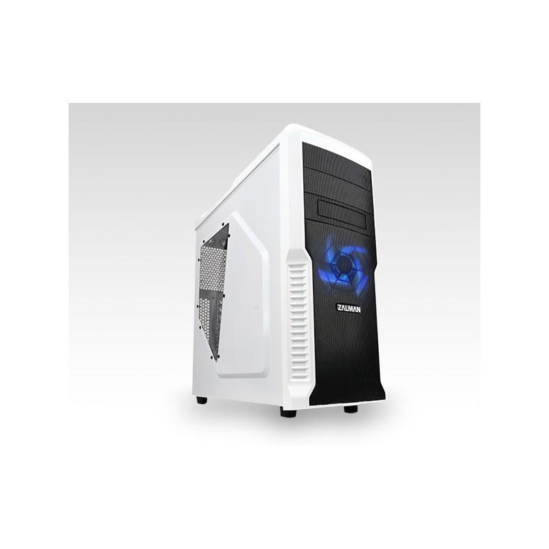 Zalman MidTower skrinka Z3 Plus, ATX, priehľadný bok, bez zdroja, biela Z3 PLUS WHITE