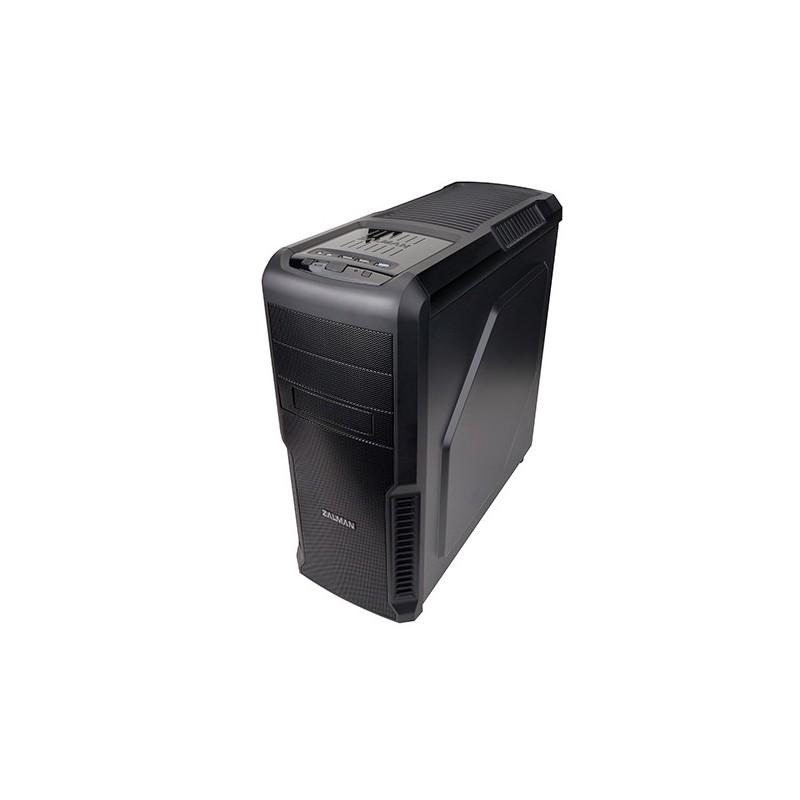 Zalman MidTower PC skrinka Z3, ATX, bez zdroja, čierna