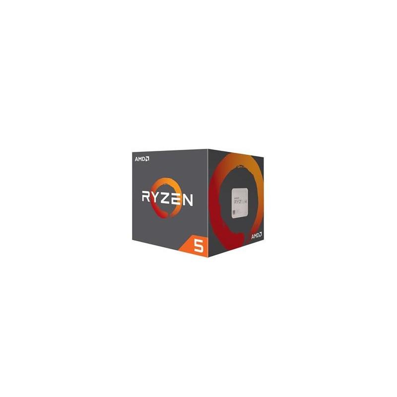 AMD cpu Ryzen 5 2600X Box AM4 (6core, 12x vlákno, 3.6GHz / 4.2GHz, 16MB cache, 95W), chladič Wraith Spire YD260XBCAFBOX
