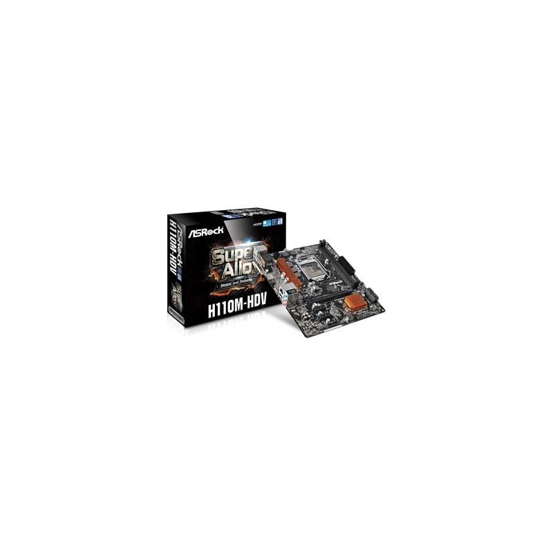 MB ASROCK - H110M-HDV