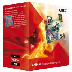 AMD, A6-6420K Processor BOX, soc. FM2, 65W, Radeon TM HD 8470D Black Edition AD642KOKHLBOX