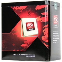 AMD, FX-9370 Processor BOX, soc. AM3+, 220W, (bez chladenia ) FD9370FHHKWOF