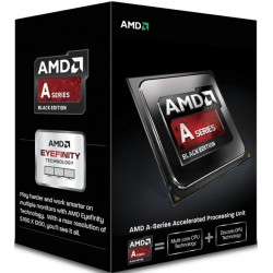 AMD, A6-6400K Processor BOX, soc. FM2, 65W, Radeon TM HD 8470D Black Edition (bez chladenia) AD640KOKHLBOX
