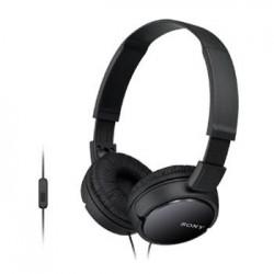 SONY MDR-ZX110AP Uzavřená sluchátka na uši - Black MDRZX110APB.CE7