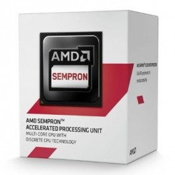 AMD, Sempron 2650 Processor BOX, soc. FS1b/AM1, 25W, Radeon R3 (bez chladenia) SD2650JAHMBOX