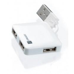 CONNECT IT USB hub se 4 porty MINI bílý CI-52