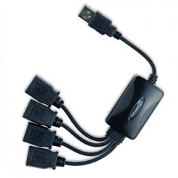 CONNECT IT 4-portový USB hub - Flexible CI-50