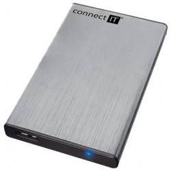 "CONNECT IT externí box LITE pro HDD 2,5"" SATA, USB 3.0 stříbrný CI-1045"