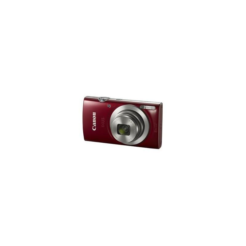 "Canon IXUS 185 RED - 20MP, 8x zoom, 28-224mm, 2,7"", HD video 1809C001"