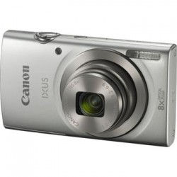 "Canon IXUS 185 SILVER - 20MP, 8x zoom, 28-224mm, 2,7"", HD video 1806C001"