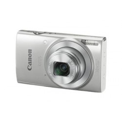 "Canon IXUS 190 SILVER - 20MP, 10x zoom, 24-240mm, 2,7"", HD video, WiFi 1797C001"