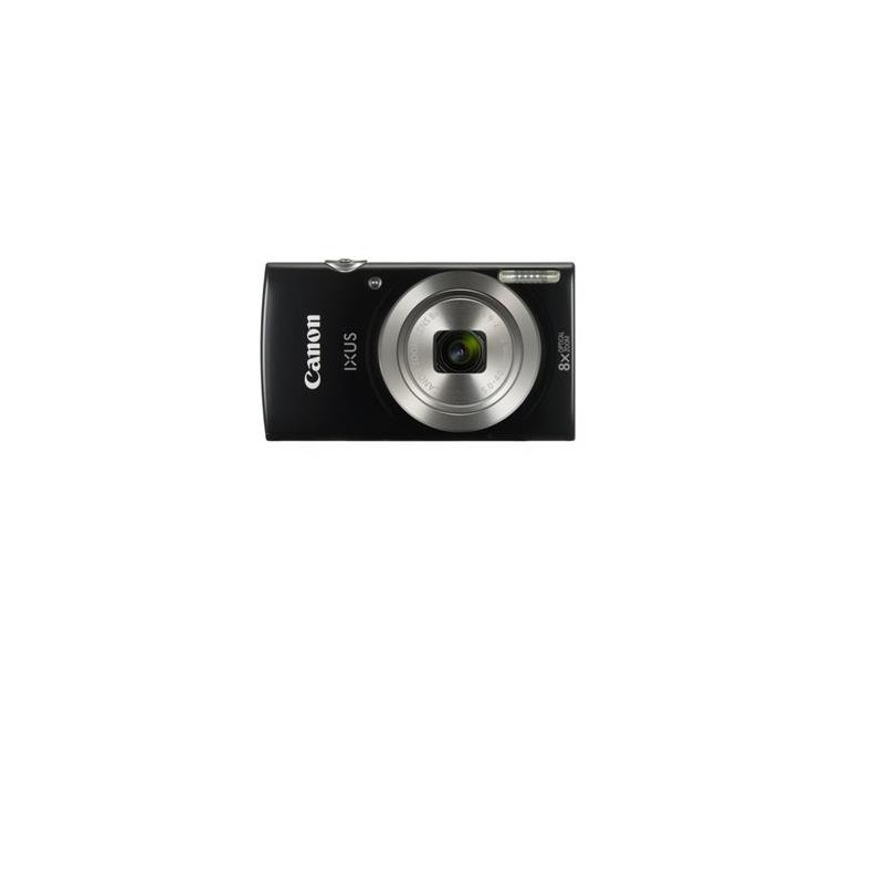 "Canon IXUS 185 BLACK - 20MP, 8x zoom, 28-224mm, 2,7"", HD video 1803C001"