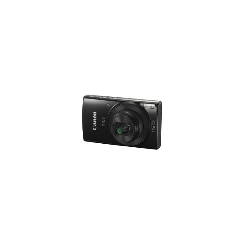 "Canon IXUS 190 BLACK - 20MP, 10x zoom, 24-240mm, 2,7"", HD video, WiFi 1794C001"