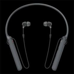SONY WI-C400B Bezdrátová sluchátka do uší s technologiemi Bluetooth® a NFC s pohodlným páskem na krk WIC400B.CE7