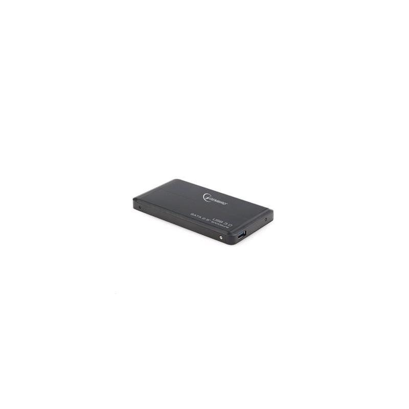 """Externí box GEMBIRD pro 2.5"""" zařízení, USB 3.0, SATA, černý HDP05243D"""