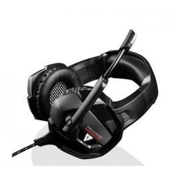 Modecom VOLCANO BOW headset, herní sluchátka s mikrofonem, 2,2m kabel, 3,5mm jack, LED podsvícení S-MC-859-BOW