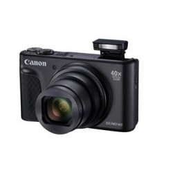 Canon PowerShot SX740HS, Black, TRAVEL KIT 2955C016