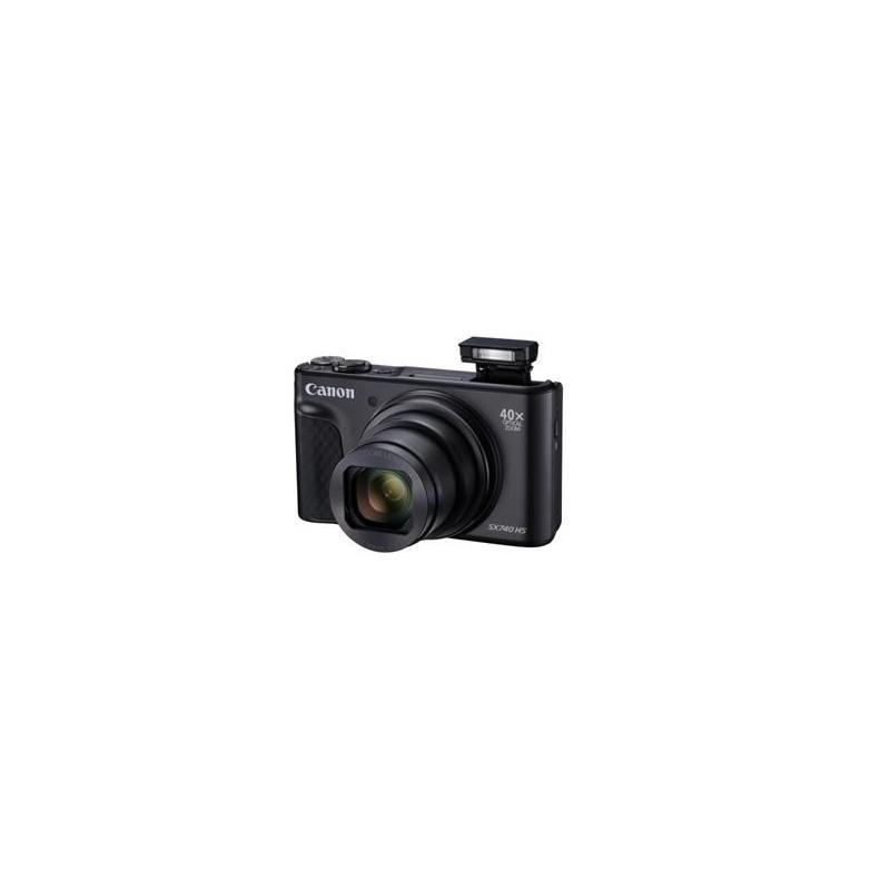 Canon PowerShot SX740HS, Black, TRAVEL KIT 2955C016