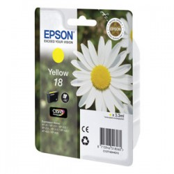 kazeta EPSON XP-305 T1804 18 Yellow C13T180440
