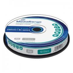 DVD+R MediaRange DL 8,5GB 8X Dvojvrstvové Printable 10ks/cake MR466/468
