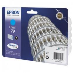 kazeta EPSON WorkForce WF-5620,5690,5190,5000 seria cyan L (800...