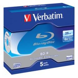 BD-R SL VERBATIM 25GB 6X 5ks/bal 43715