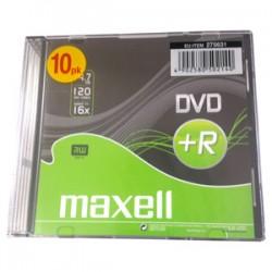 DVD+R MAXELL 4,7GB 16X Slim box 10ks 275631