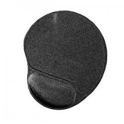 podložka pod myš GEMBIRD, čierna s gélovou opierkou, 240 x 220 x 4 mm MP-GEL-BK