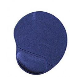 podložka pod myš GEMBIRD, modrá s gélovou opierkou, 240 x 220 x 4 mm MP-GEL-B