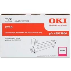 valec OKI C710 magenta 43913806