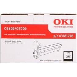 valec OKI C5600/C5700 black 43381708