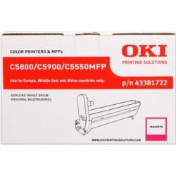 valec OKI C5800/5900/5550MFP magenta 43381722