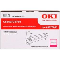valec OKI C5650/C5750 magenta 43870006