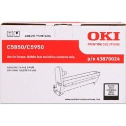 valec OKI C5850/C5950, MC560 black 43870024