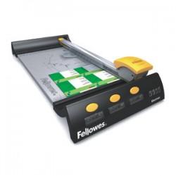 Rotačná rezačka Fellowes Electron A4, dĺžka rezu 320 mm, kapacita 8 listov 80g papiera FELCUTELECTRON4