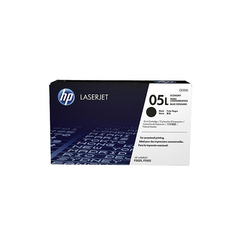 HP Čierna originálna úsporná tonerová kazeta HP 05L /1000strán/ CE505L