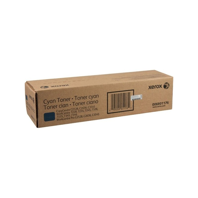 Xerox Cyan toner (15K) - WorkCentre 7228/7235/724507328/7335/7345 006R01176