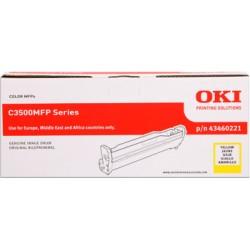valec OKI C3500MFP/C3520MFP/C3530MFP, MC350/MC360 yellow 43460221