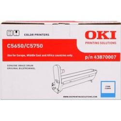 valec OKI C5650/C5750 cyan 43870007
